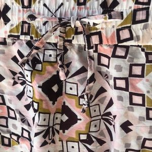 French Connection Shorts - French Connection tribal shorts
